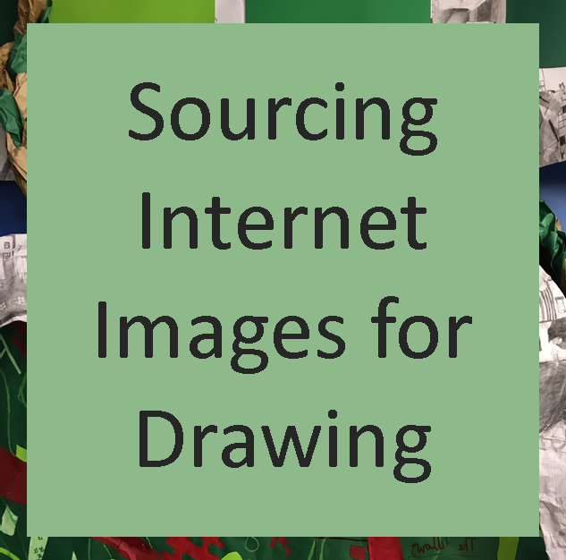 Sourcing Internet Images For Drawing
